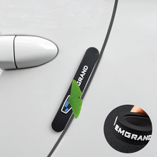 цена на 6 PCS For TOYOTA car door Anti-collision strip Rearview mirror body anti-rubbing Door protection strip Car protection sticker