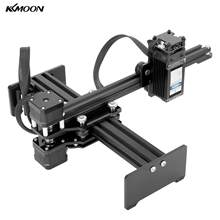 KKMOON Professional Mini Desktop Single Arm Laser Engraver Cnc Router Portable DIY Laser Engraving Carving Machine(China)