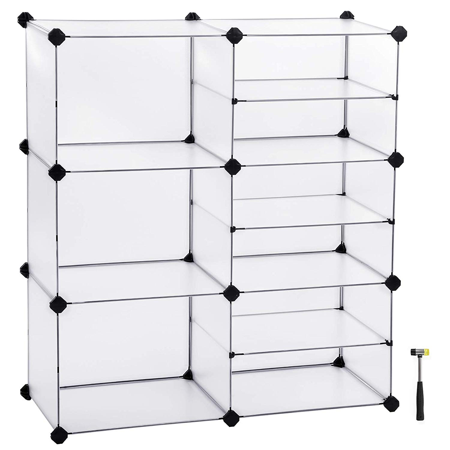 9 Cube Diy Modular Shelving Shoe Rack Closet Storage