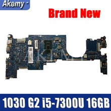 935498-601 6050A2848001-MB-A01 For HP EliteBook x360 1030 G2 Laptop motherboard i5-7300U 16GB fully Tested(China)