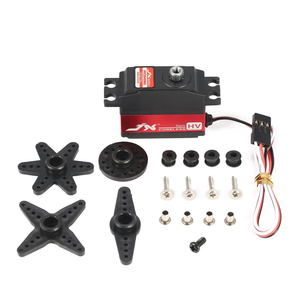 JX PDI-HV2545MG Waterproof Metal Gear Digital Coreless Gyro Servo for RC 450 500 Helicopter Fixed-wing Airplane