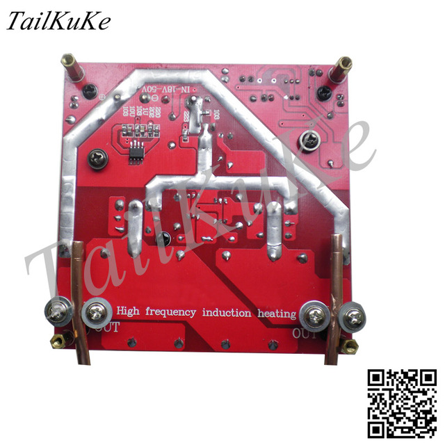 ZVS 고주파 유도 가열 과전류 보호 입력 전압 18V 50V