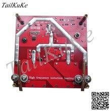 ZVS calentamiento por inducción de alta frecuencia con protección contra sobrecorriente voltaje de entrada 18V 50V