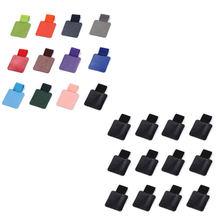 12 bloco caneta loop titular, auto-adesivo caneta titular lápis elástico loop para notebooks, revistas, calendários