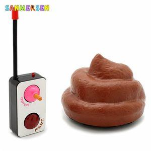 Веселый автомобиль с дистанционным управлением для детей, шутка, розыгрыш, игрушки для семейных игр, забавные вечерние игрушки на радиоупра...