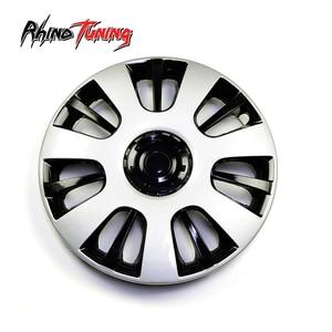 Универсальная крышка для автомобильных колес 14 дюймов, 1 шт., крышки ступицы, чехлы для автомобильных дисков R14, автомобильные аксессуары