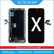 AAA+++ For iPhone X XR XS MAX OLED With Touch Digitizer Assembly No Dead Pixel LCD Screen Replacement Display Guarantee