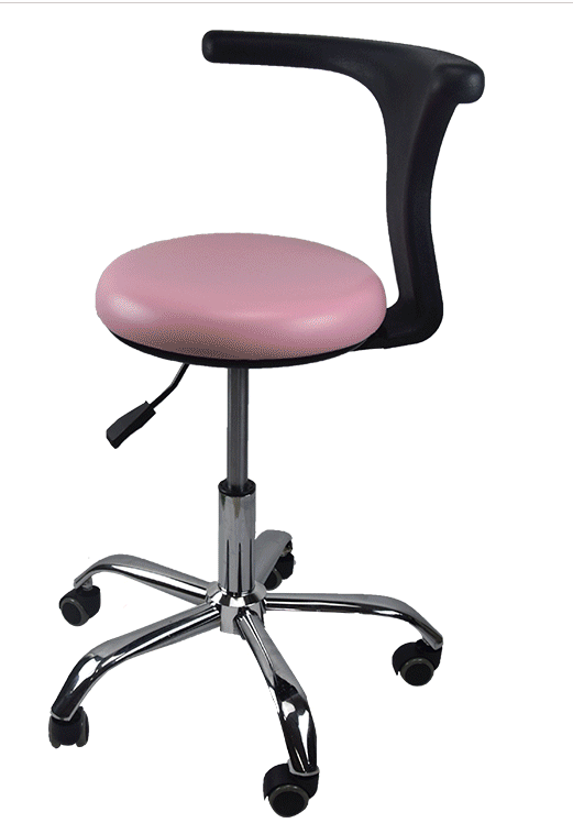 H1 Ergonomic Doctor Stool Dentist Swivel Rolling Chair With Back Swivel Adjustable Dentist Stool Dental Clinic SpaMassage