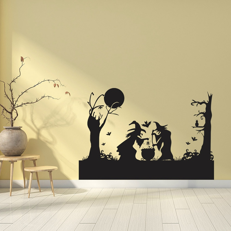 kraft paper decoration classic animation posters Witch emergency home