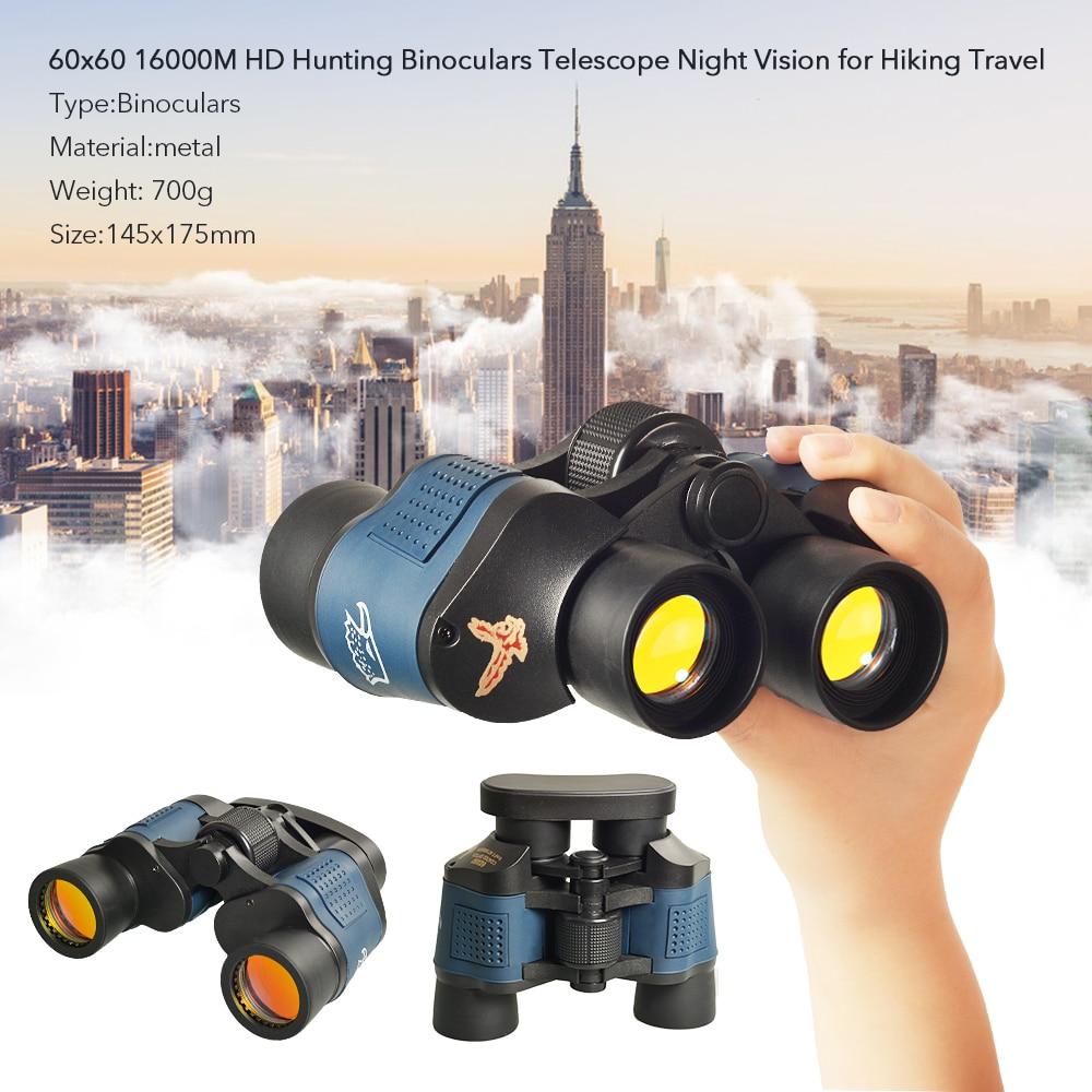 Tools : APEXEL Professional Telescope 60X60 Binoculars 10000M High Power For Outdoor Hunting Optical Night Vision Binoculars Waterproof