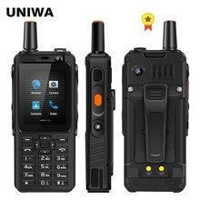 UNIWA F40 Zello Walkie Talkie 4G Mobile Phone 4000mAh Waterp