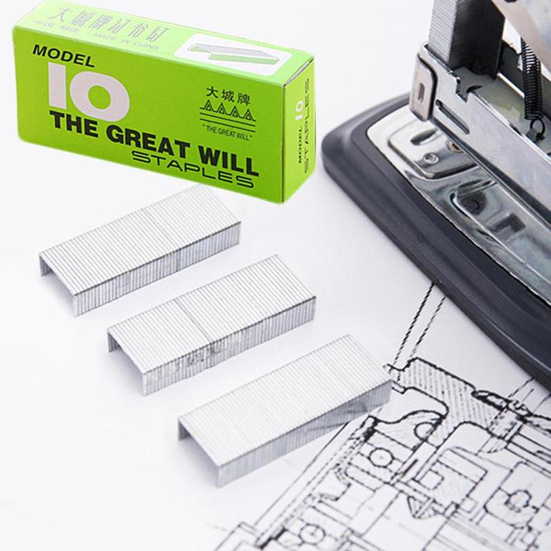 1box Small Staples 10# Stapler With Special Offer Small Staple Needle Office Supplies Sales Dropshipping School Office Supplies