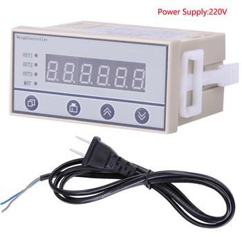 220V wysokiej możesz o nich nadmienić kontroler ważenia wskaźnik masy ciała 6-wyświetlacz cyfrowy LED wysokiej jakości tanie i dobre opinie Hilitand CN (pochodzenie) Other Weight Indicator 5 kg