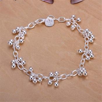 Women Wedding Chain Bracelet Jewelry 925 Silver Jewelry
