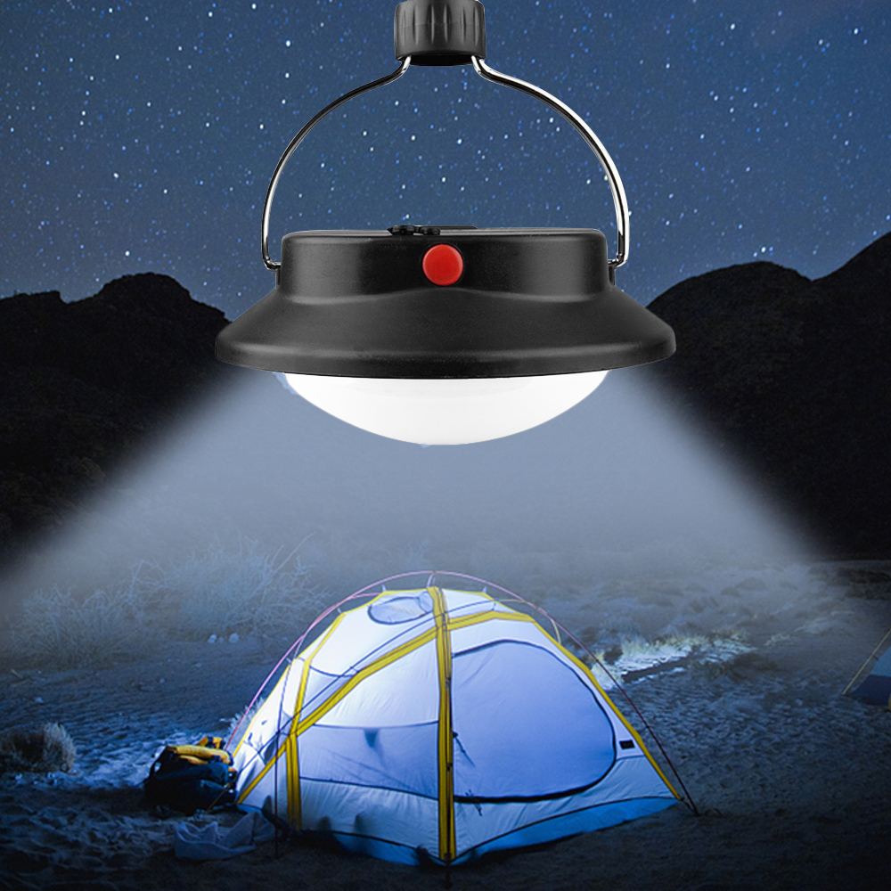 SNEWVIE 60 LED Camping Tent Light Outdoor Ultra Bright Rechargeable Emergency Lamp With Hanging Hook