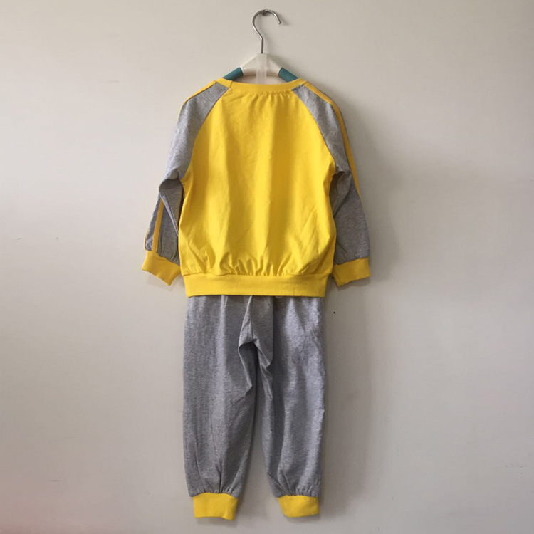 Summer Children Long Sleeve Kindergarten Suit Shenzhen Dongguan Zhongshan Kindergarten Business Attire Huang Gang Article Studen