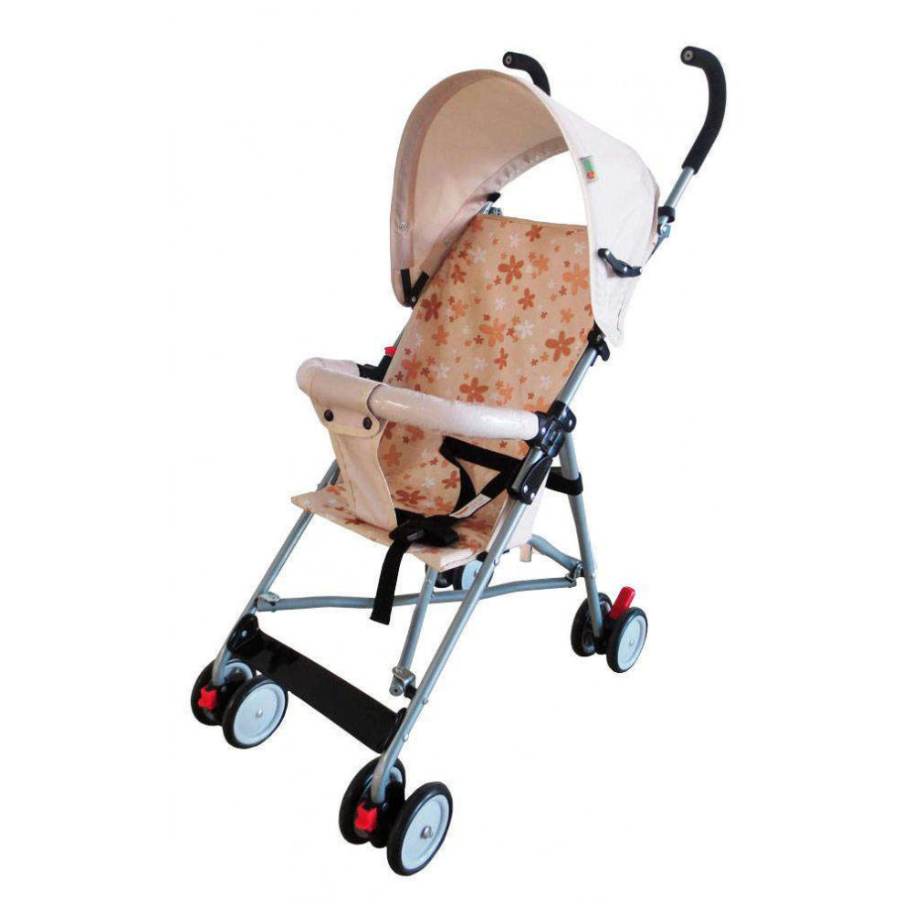 Mother & Kids Activity & Gear Baby Stroller Lightweight Stroller Geoby 393616 pouch light weight portable travel airplane baby stroller can sit lie car foldable summer baby umbrella cart trolley pram 0 3y