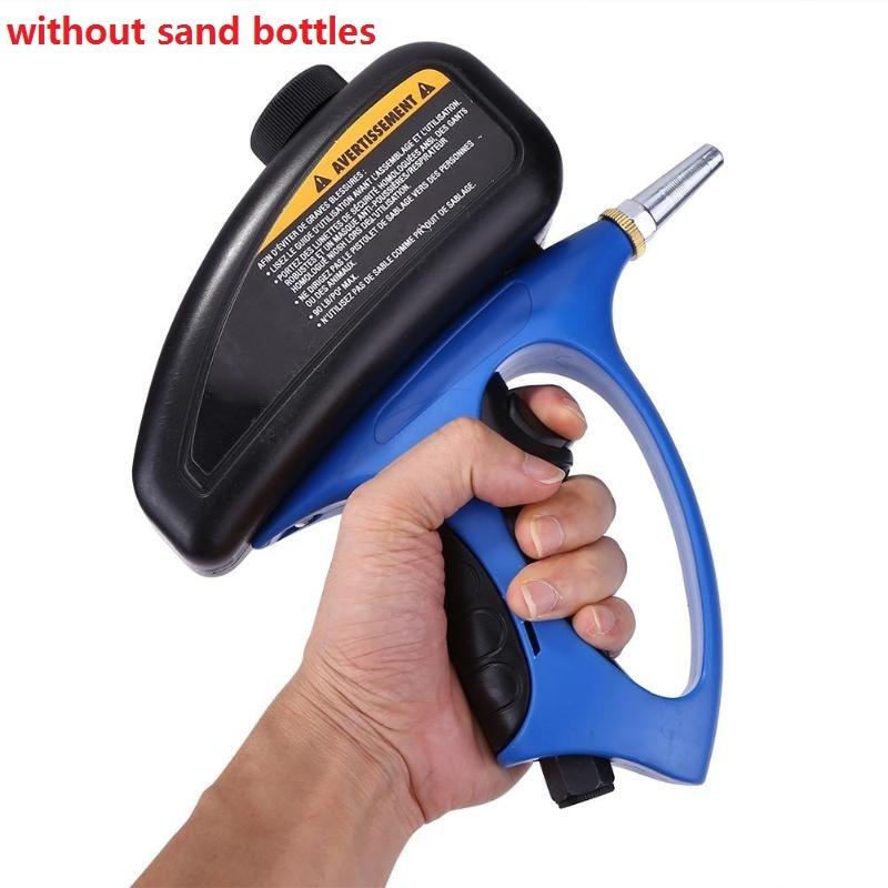 Image 3 - Portable Sandblaster Gun Sandblasting Pistol Sableuse Sandblast Gun DIY Anti rust Blasting Device Pneumatic Small Sand BlastingSpray Guns   -