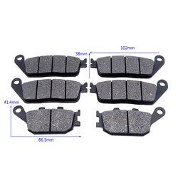 Motorcycle Replacement Part Kit Front/Rear Brake Pads For HONDA 599 CBR 600 F3 CB600F Hornet CBF 600 CB750 CBF 1000 Moto Parts