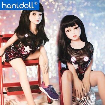 Hanidoll 3.28ft Silicone Sex Doll Japanese Love Doll Metal Skeleton Full Sized Realistic Vagina Breast Masturbator Sex doll