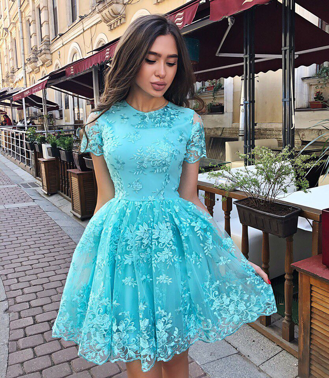 Short Prom Cocktail Dresses Plus Size Arabic Muslim Evening Formal Dress Gown 2019 Robe De Soiree