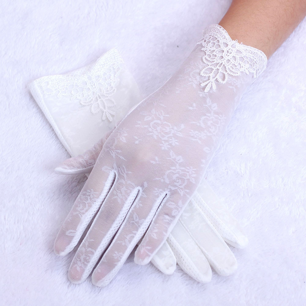 Women's Summer UV-Proof Driving Gloves Gloves Lace Gloves Hand Gloves Guantes Eldiven  Hot Sales Gloves 2020