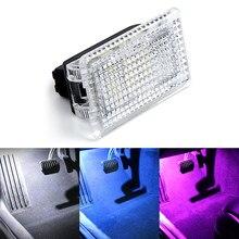 2 шт. ультра-яркая подсветка для TESLA модель 3 модели S модель X обновление Светодиодная лампа для освещения салона автомобиля дверь багажника ...