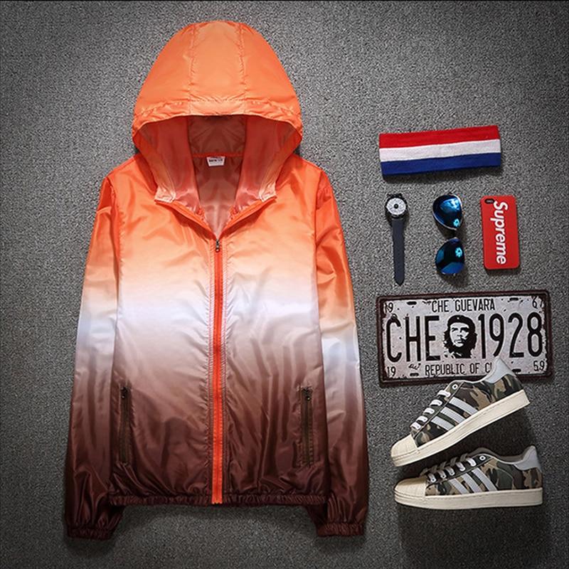 2021 Autumn Jacket for Women Hooded Patchwork  Women's Spring Windbreaker Light with Zipper Hooded Female Coat Outwear 3