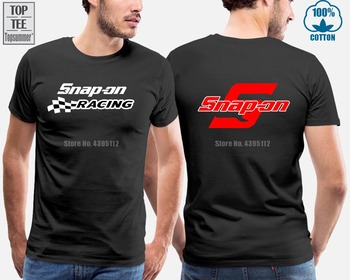 New Snap-On Racer Tee Shirt Snap-On Racer T-Shirt автомобиль на радиоуправлении kidztech mini racer