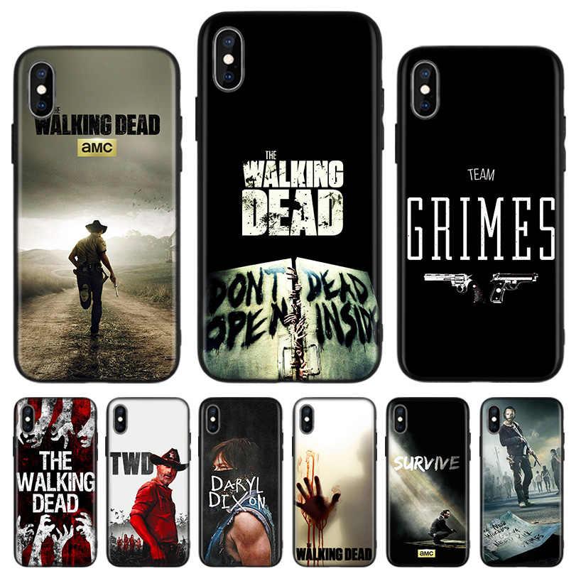 coque iphone 8 walking dead