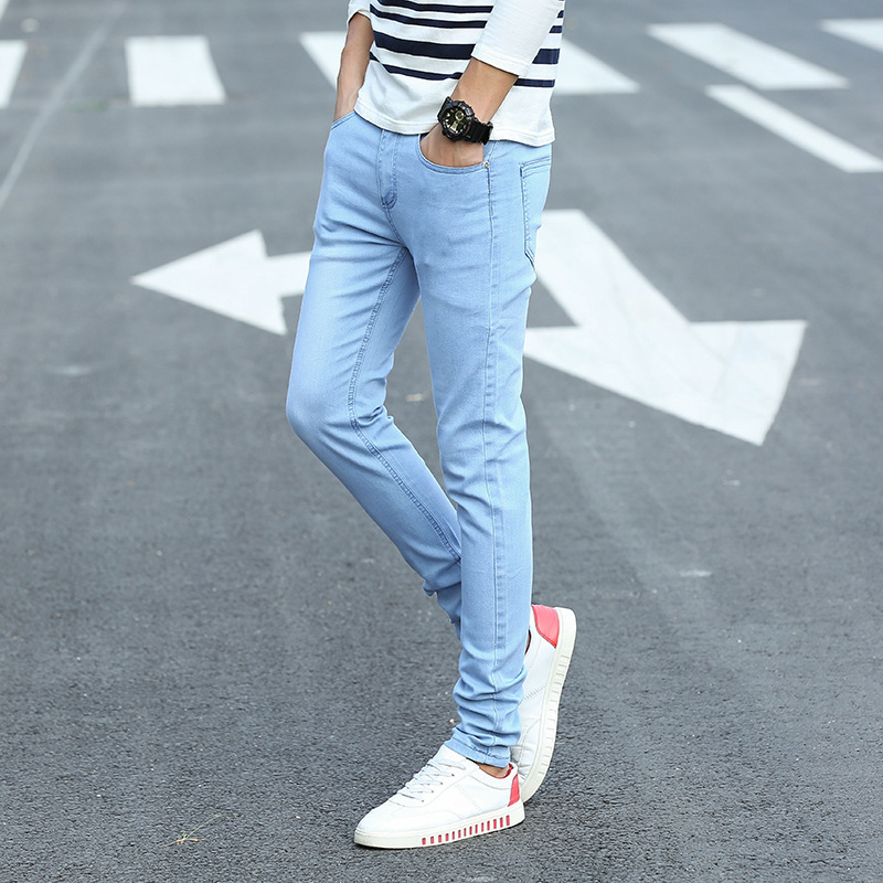 Odd Yake 2019 Spring And Summer Thin Hot Selling Jeans Men's Men Korean-style Slim Fit Brand Jeans Men's Fashion