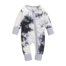 Осенний Детский костюм для новорожденных девочек и мальчиков;