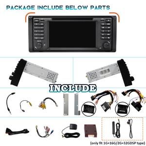 Image 2 - WONDEFOO PX6 1 DIN Android 10 car radio For BMW X5 E53 E39 car audio navigation multimedia dvd radio tape recorder no 2din 2 DIN
