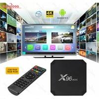 GOOJODOQ X96 Mini Android 10 Smart TV Box 2GB 16GB Amlogic S905W Set Top Box Dual Wifi 2.4G e 5G 4K Media Player Youtube IPTV Box