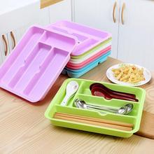Drawer Cabinet Kitchen Utensils Cutlery Divider Tray Plastic Storage Organizer Storage Drawer kitchen organizer drawer chopstick compact cutlery spoon utensil tray drawer organizer insert storage store box