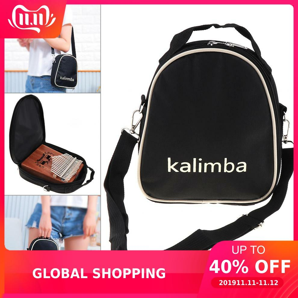 17/15/10 Key Universal Kalimba Storage Bag Thumb Piano Mbira Soft Case Oxford Cloth Shoulder Portable Bag
