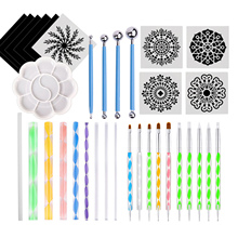 Dotting-Tools-Set Rocks-Dot-Kit Mandala for Painting Drawing DIY Coloring 35pcs