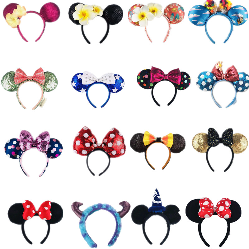 New 1pieces/lot Plush Mouse Doll Girls Hair Band Gift Act The Role Ofing Is Tasted