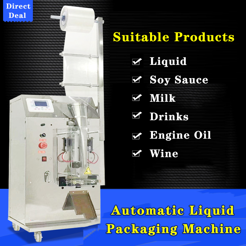 Automatic Liquid Packaging Machine Automatic Electronic Measurement Quantitative Cold Skin Condiment Water Soy Sauce Vinegar