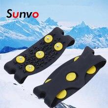 Противоскользящие шипы с 5 шипами для снега и льда зимних прогулок