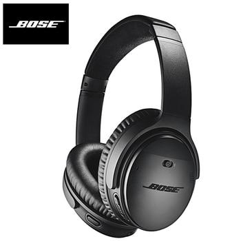Original Bose QuietComfort 35 II ANC Wireless Bluetooth Headphones Bass Headset Noise Cancelling Sport Earphone Voice Assistant Electronics Wireless Earphones