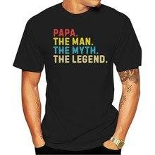 Camiseta papa o homem 2021 mito lendahomem 2021 M-3XL feito nos eua