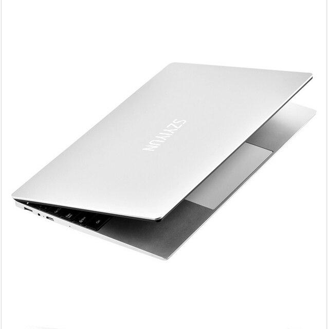 15.6 Inch Core i5-4200U Intel Laptop 8GB RAM 64G-1024G SSD Windows 10 Metal Office Notebook Computer Gaming Working Laptop 6