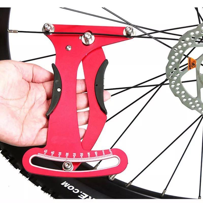 Bike Spoke Tensiometer Calibration Tool,Aluminum Alloy Bicycle Tension Meter Accurate Measurement Tool