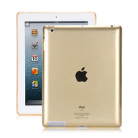 """4 2 for ipad 2/3/4 TPU drop-resistant transparent tablet computer suitable for 9.7 inch universal A1395 / A1397 / A1396 / A1416 9.7"""" (1)"""