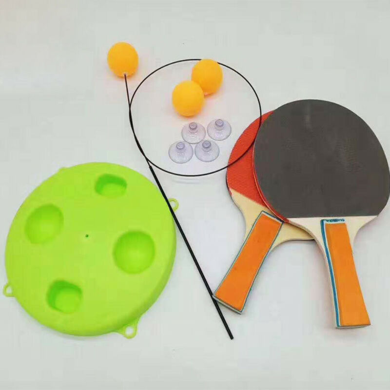 Universal Portable Table Tennis Trainer Table Tennis Soft Shaft Training Machine Elasticity Kid Adult Ping Pong Practice Trainer