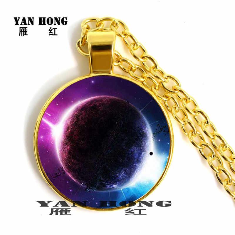 Bodong pianeta indietro per salvare il mondo contro il tempo e lo spazio, pendente della collana di modo per i bambini di compleanno
