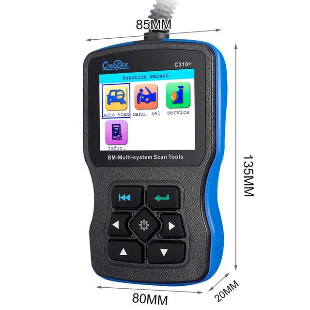 Newest V7.2 Creator C310+ for BMW Multi System Scan Tool Creator C310+ Code Scanner Support English/German