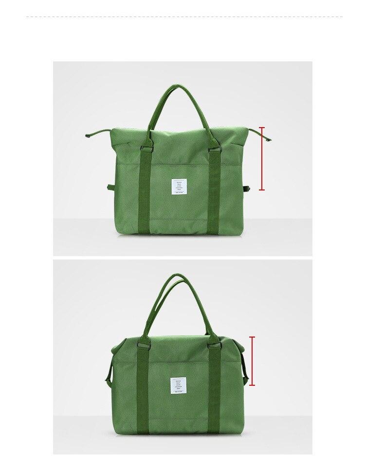 Durável Nylon Dobrável Cubos de Embalagem Saco