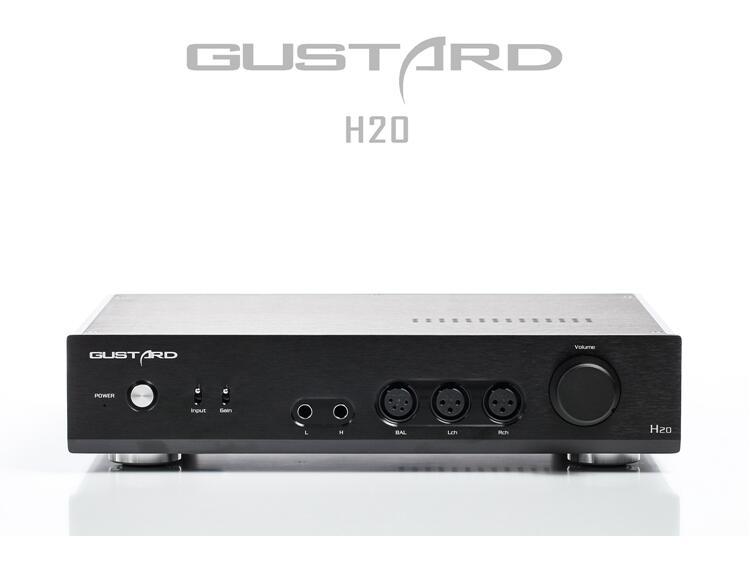GUSTARD H20 Full Balance classe A ampli casque stéréo/Audio HiFi pré-ampli